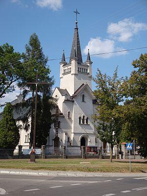 Sławatycze - Catholic church in Sławatycze