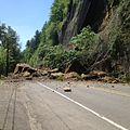 Slide on Historic Columbia River Highway (14354210924).jpg