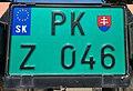 SlovakiaZLicensePlatePKZ046.jpg