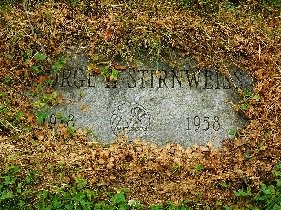 Snuffy Stirnweiss grave