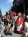 Society of St. Anne in the French Quarter Mardi Gras 2009 10.jpg