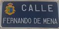 Socuéllamos (02-07-2019) calle Fernando de Mena, indicativo.png