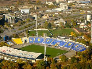 Vivacom Arena - Georgi Asparuhov Stadium - Image: Sofia Levski Stadium Aerial