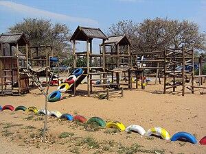 Somarelang Tikologo Community Playground Full Shot