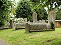 Some very old graves outside Coggeshall church - geograph.org.uk - 862677.jpg