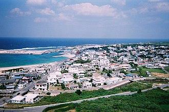 Yonaguni, Okinawa - Image: Sonai yonaguni