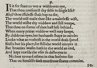 Essay on shakespeare sonnet