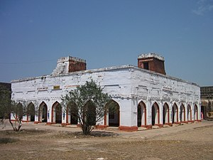 Alha-Khand - The Sonva Mandap in the Chunar fort, the place, where according to a popular belief, Alha married Sonva