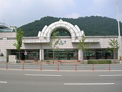Sotae station entrance Gwangju subway.jpg