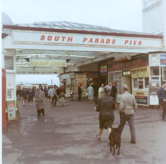 South Parade Pier - South Parade Pier in 1967