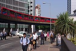 South Quay DLR station MMB 08.jpg