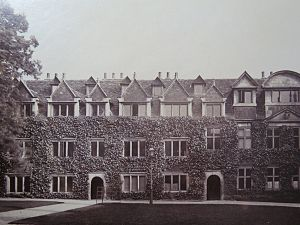 Pembroke College, Cambridge - South Range of Ivy Court, 1870