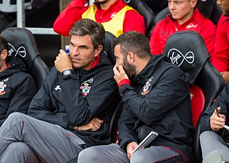 Mauricio Pellegrino - Pellegrino as a coach of Southampton in 2017.