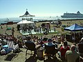 Southsea Bandstand, summer jazz concert with dancers - geograph.org.uk - 1096417.jpg
