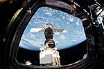 Soyuz MS-12 spacecraft docked to the Rassvet module (2).jpg