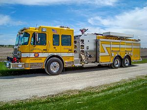 Spartan Motors - Image: Spartan Gladiator Pingree Grove Fire Protection District Pingree Grove, Illinois