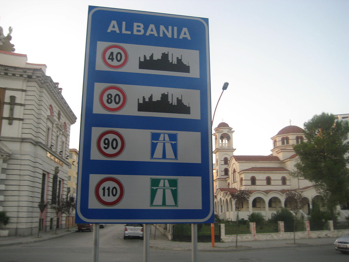 speed limits in albania wikipedia. Black Bedroom Furniture Sets. Home Design Ideas