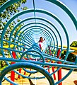 Spin circle at a kids playground in Japan; July 2010.jpg