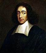 Ritratto di Baruch Spinoza.