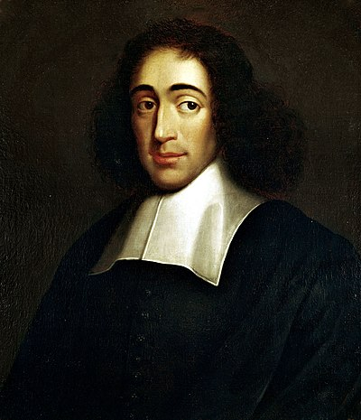 Picture of an author: Baruch Spinoza