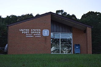 Spout Spring, Virginia - Post office