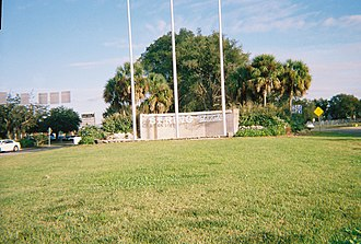 Spring Hill, Florida - The gateway to Spring Hill at US 19 and Spring Hill Drive