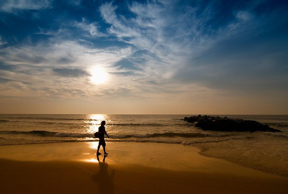 Spring Lake, New Jersey Beach at Sunrise