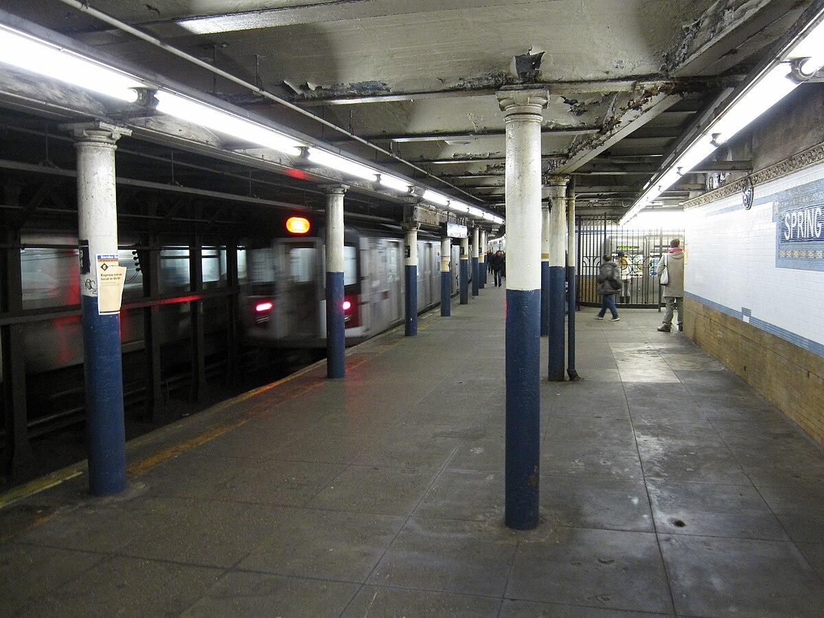 Spring Street IRT Lexington Avenue Line