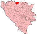 Srbac Municipality Location.png