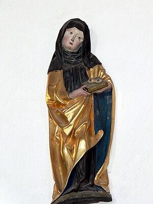 Odile of Alsace - Image: St.Jakob Abenberg St.Ottilie