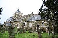 St.John the Baptist's church, Belleau, Lincs. - geograph.org.uk - 108133.jpg