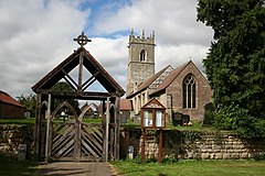 St.Nicholas' church and Lych Gate - geograph.org.uk - 547111.jpg