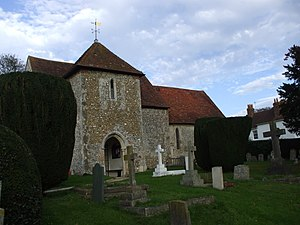 Funtington - Image: St. Andrews, West Stoke, West Sussex (geograph 2171456)