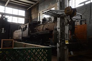Arkansas Railroad Museum - St. Louis Southwestern Railway (Cotton Belt Route) Steam Locomotive 336