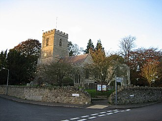 Steeple Aston - Image: St. Peter and St. Paul Church, Steeple Aston geograph.org.uk 77689