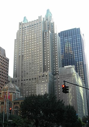 Waldorf Astoria New York - The hotel from the north