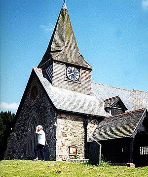 Llansantffraid-ym-Mechain - Image: St Ffraids Church, Llantsanffraid geograph.org.uk 1078467