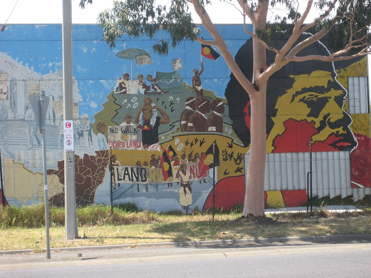 Northcote koori mural wikipedia for Mural history