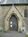 St John's Church, Cononley, Porch - geograph.org.uk - 1534065.jpg