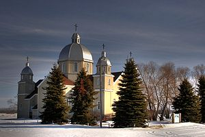 Leduc County - Image: St John the Baptist Thorsby Alberta Canada 04A