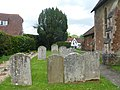 St Mary's Church, Petworth Road, Chiddingfold (May 2014) (Gravestones).JPG