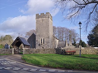 St Fagans - Image: St Mary's Church, St Fagans