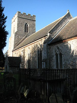 Beetley - Image: St Mary Magdalene's church, Old Beetley (2) geograph.org.uk 607859