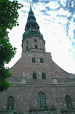 St. Peter's Lutheran Church, Riga, Latvia