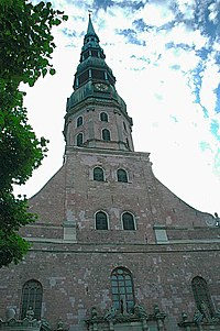 St Peters Church Riga.JPG