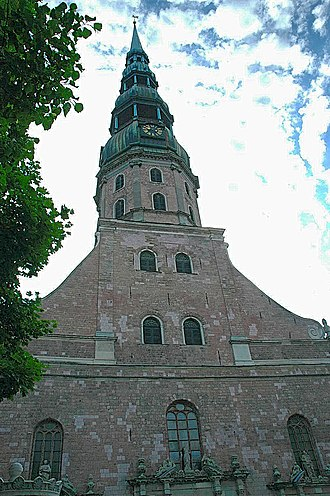 Baltic states - St. Peter's Lutheran Church, Riga, Latvia