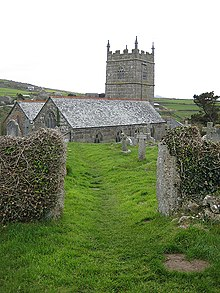 St Senara's Church, Zennor - geograph.org.uk - 783236.jpg