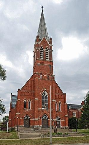 Donaldson and Meier - Image: St Vincent De Paul Catholic Church Pontiac MI