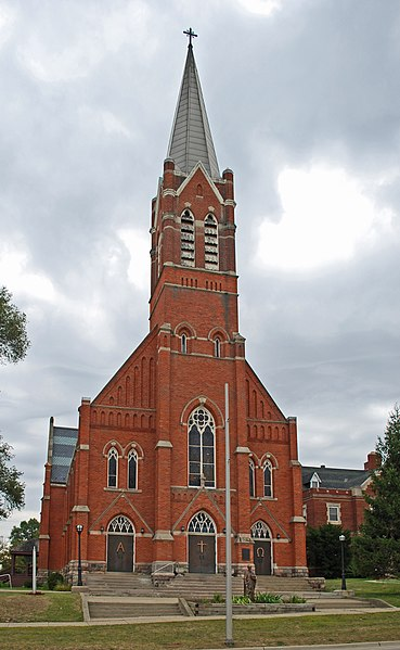File:St Vincent DePaul Catholic Church Pontiac MI.JPG