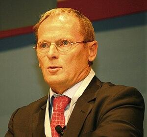 English: Staatssekretaer Jochen Homan during a...